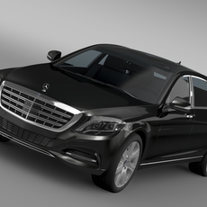 Mercedes Maybach Guard S600 X222 2016 3D Model