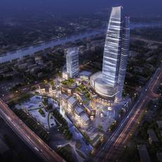 Skyscraper business center 027 3D Model