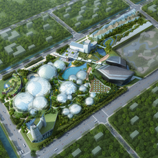 Amusement park 001 3D Model