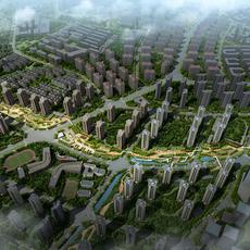 City Planning 053 3D Model