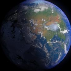 Earth 16k 3D Model