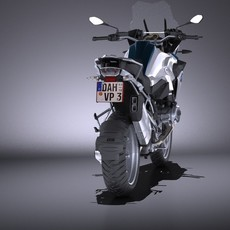 BMW R1200 GS 2015 VRAY 3D Model