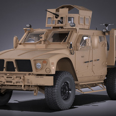 Oshkosh M-ATV R6 3D Model