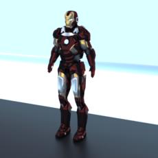ironman 3D Model