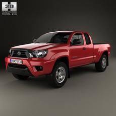 Toyota Tacoma Access Cab 2012 3D Model