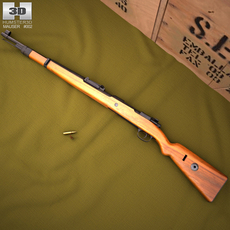 Karabiner 98k 3D Model
