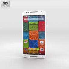 Motorola Moto X (2nd Gen) White Bamboo 3D Model