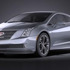 Cadillac ELR 2016 VRAY 3D Model