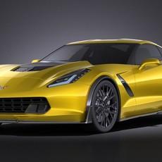 Chevrolet Corvette C7 Z06 2014 VRAY 3D Model