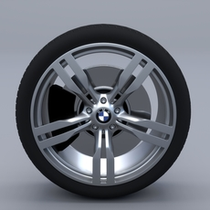 BMW G11 Wheel 3D Model