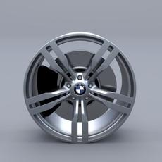 BMW G11 Rim 3D Model