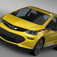 Opel Ampera-e 2016 3D Model