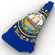 New Hampshire Political Map 3D Model