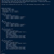 FlipIt - generic character flipper for Maya 0.1.0 (maya script)