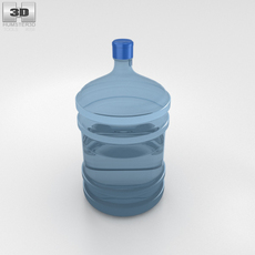 Bottled Water 3D Model