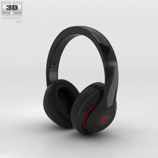 Beats by Dr. Dre Studio Over-Ear Headphones Black 3D Model