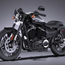 Harley-Davidson Roadster 2016 3D Model