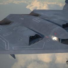 B2 Spirit Bomber 3D Model