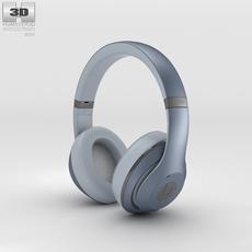Beats by Dr. Dre Studio Over-Ear Metallic Sky 3D Model