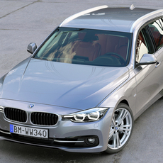 BMW 3 Series Touring 2016 3D Model