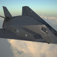 Lockheed F-117A Nighthawk 3D Model