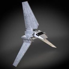 Star Wars Lambda T4A Class Shuttle 3D Model