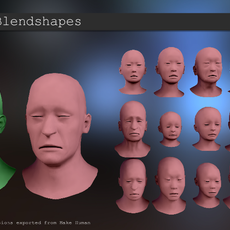 Retarget Blendshapes for Maya 0.8.0 (maya script)