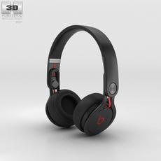 Beats Mixr High-Performance Professional Black 3D Model