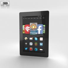 Amazon Fire HD 7 White 3D Model