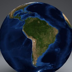 EarthGlobe 21k 3D Model