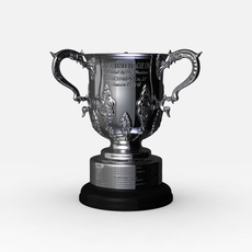 League Cup Trophy 3D Model