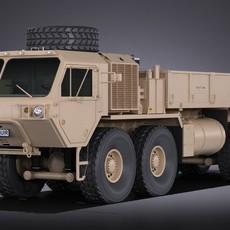 Oshkosh Hemitt A4 Cargo Truck 3D Model