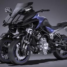 Yamaha MWT 9 2016 3D Model