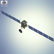 Rosetta space probe 3D Model