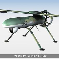 Pchela-1T Drone - Russian UAV 3D Model