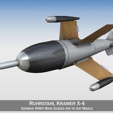 Ruhrstahl Kramer X-4 3D Model