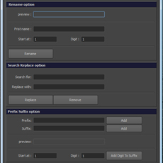 akNameTools 1.0.0 for Maya 1.0.0 (maya script)