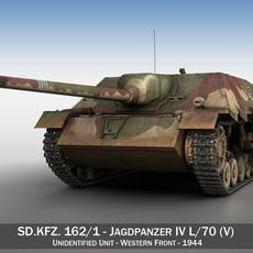 Jagdpanzer IV L/70 (V) Late Production 3D Model