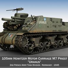 M7 Priest - Uranus 3D Model