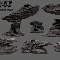rock set 20 3D Model