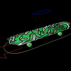 Skate board for Maya 1.0.0