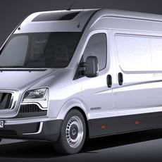 Generic Big Van 2016 3D Model