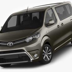 Toyota Proace Verso 3D Model