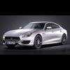 Maserati Quattroporte 2017 3D Model