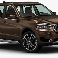 2014 BMW X5 3D Model