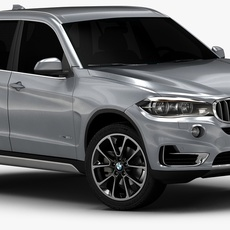 2014 BMW X5 (Low Interior) 3D Model