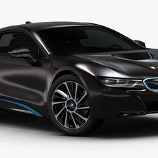 2015 BMW i8 (Low Interior) 3D Model
