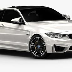 2015 BMW M4 (Low Interior) 3D Model