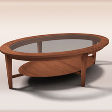 Coffe table 3D Model