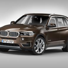 BMW X5 F15 (2014) 3D Model